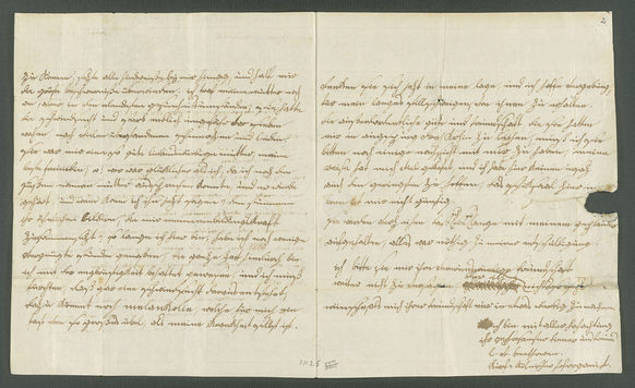 In his letter to Joseph von Schaden in Augsburg of 15 September 1787, Beethoven expressed his sorrow about his mother's death
